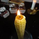 Мастер-класс по изготовлению магической свечи из вощины на желание